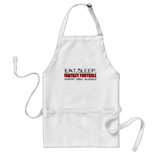 Eat Sleep Fantasy Football Standard Apron