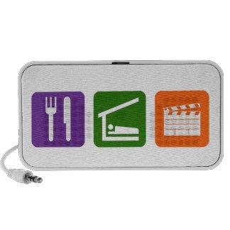 Eat Sleep Film Production PC Speakers