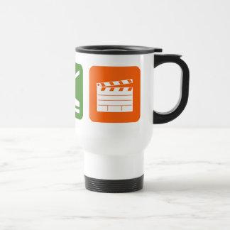 Eat Sleep Film Production Travel Mug