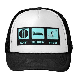 Eat Sleep Fish fishing gifts Trucker Hat
