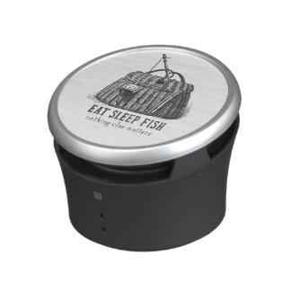 Eat Sleep Fish Vintage Tackle box Speaker