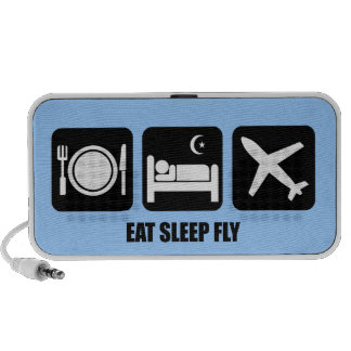 eat sleep fly mp3 speakers