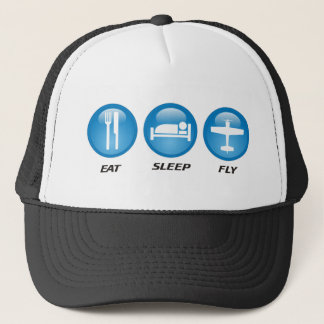Eat Sleep Fly Trucker Hat