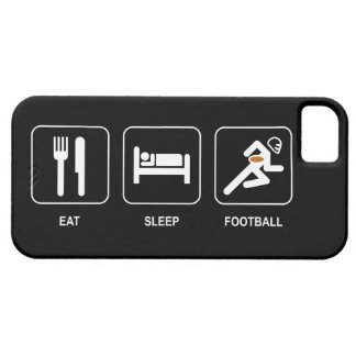 Eat Sleep Football Barely There iPhone 5 Case