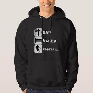 Eat Sleep Football Hoodie