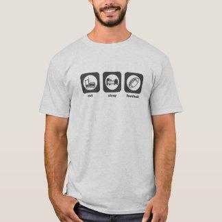 Eat. Sleep. Football. T-shirt