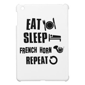 Eat Sleep French Horn Repeat iPad Mini Cases