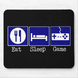 Eat, Sleep, Game Mouse Pad