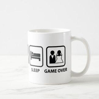 Eat Sleep Game Over Coffee Mug