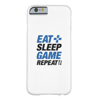 Eat Sleep Game Repeat Barely There iPhone 6 Case