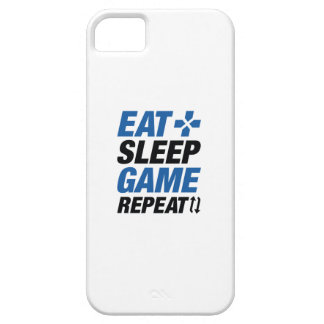 Eat Sleep Game Repeat Case For The iPhone 5