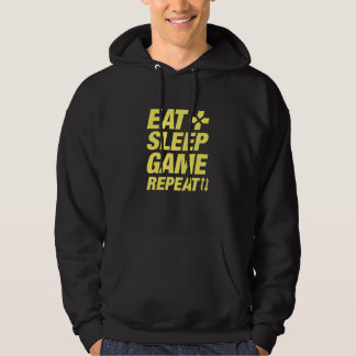 Eat Sleep Game Repeat Hoodie