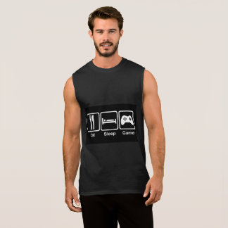 Eat_sleep_game Sleeveless Shirt