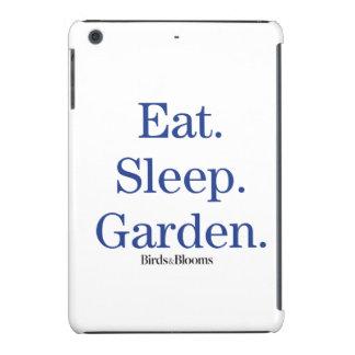 Eat. Sleep. Garden. iPad Mini Retina Cases