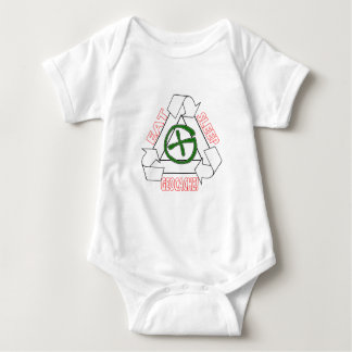 EAT SLEEP GEOCACHE - DO IT AGAIN BABY BODYSUIT