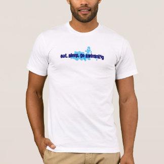 Eat, Sleep, Go Swimming T-Shirt