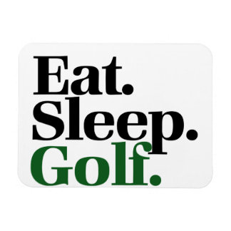 Eat. Sleep. Golf. Magnet
