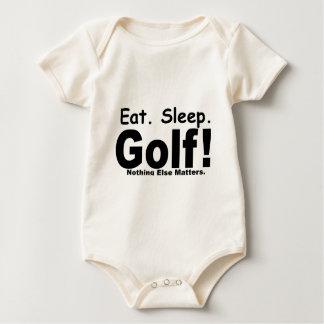 Eat Sleep Golf - Nothing Else Matters Baby Bodysuit