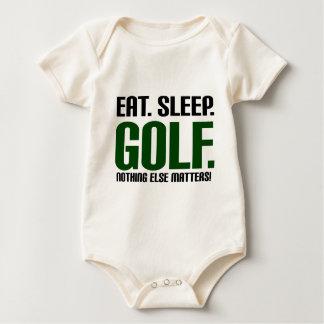 Eat Sleep Golf - Nothing Else Matters! Baby Bodysuit