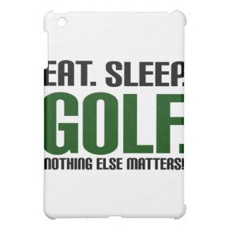 Eat Sleep Golf - Nothing Else Matters iPad Mini Covers