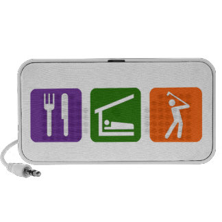 Eat Sleep Golf Portable Speaker
