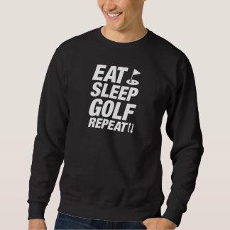 Eat Sleep Golf Repeat Sweatshirt