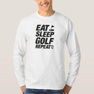 Eat Sleep Golf Repeat T-Shirt