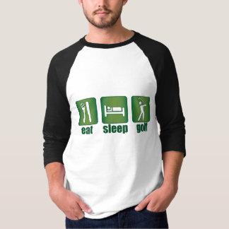 Eat Sleep Golf Shirts