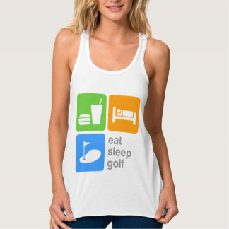 Eat Sleep Golf Singlet