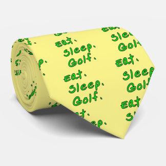 Eat. Sleep. Golf. Tie