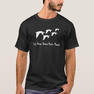 Eat Sleep Goose Hunt..Repeat! Customize It! T-Shirt