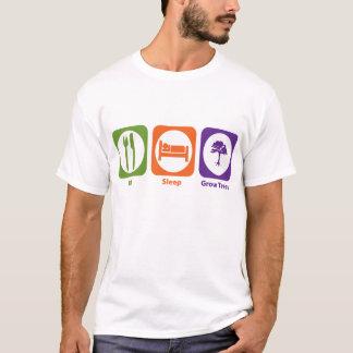 Eat Sleep Grow Trees T-Shirt