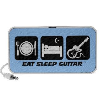 eat sleep guitar travel speaker