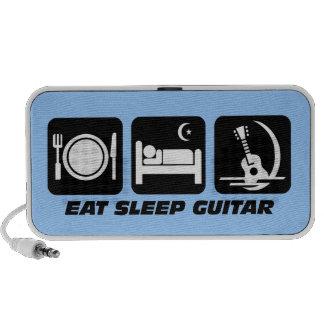 eat sleep guitar PC speakers