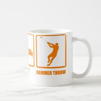 Eat Sleep Hammer Throw Coffee Mug