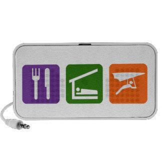 Eat Sleep Hang gliding Speakers