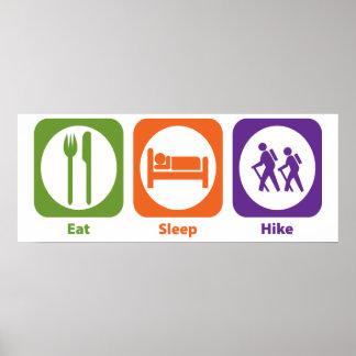 Eat Sleep Hike Print