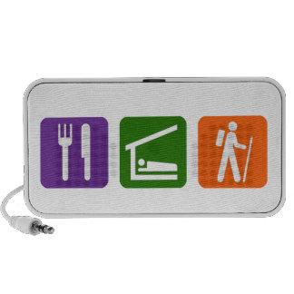 Eat Sleep Hiking Mp3 Speaker