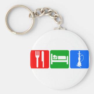 Eat,Sleep,Hookah Key Ring