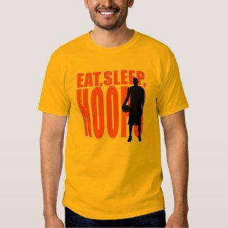 Eat, Sleep, Hoops T Shirts