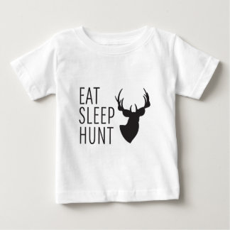 Eat Sleep Hunt Baby T-Shirt