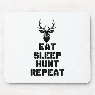 Eat Sleep Hunt Repeat Mouse Pad