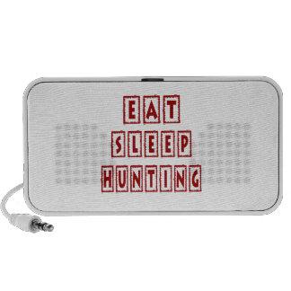 Eat Sleep Hunting PC Speakers