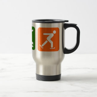Eat Sleep Ice Skating Travel Mug