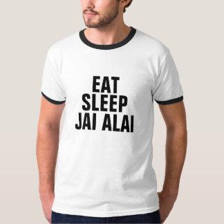 Eat sleep Jai alai Tshirts