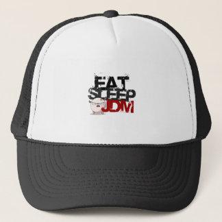 EAT SLEEP JDM TRUCKER HAT