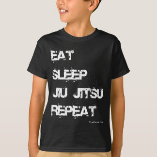 Eat Sleep Jiu Jitsu Repeat T-Shirt