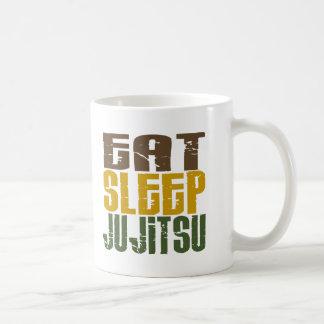Eat Sleep Ju Jitsu 1 Basic White Mug