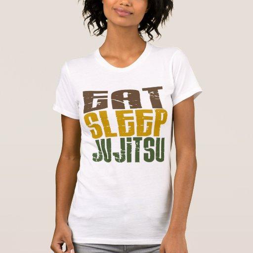 Eat Sleep Ju Jitsu 1 Tees