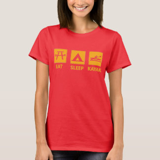 Eat Sleep Kayak T-Shirt